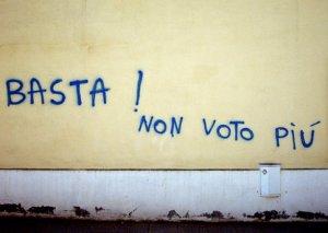 Il non-votante è un testimone individuale par excellence, non un partitante.
