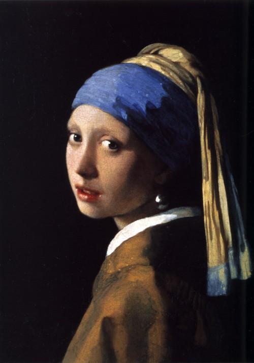 """Johannes Vermeer, """"La ragazza con l'orecchino di perla"""" (1665)"""