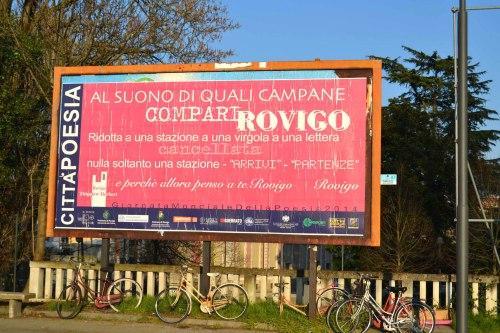Città Poesia a Rovigo. Immagine di Marco Munaro.