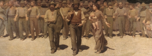 il quarto stato di giuseppe pollizza da volpedo 1901